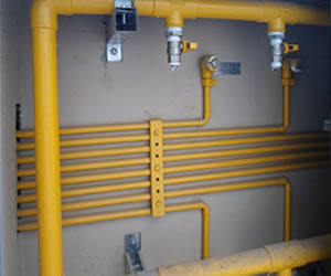Caça vazamento de gás natural GN em Suzano