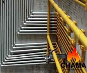Conversão de tubulação de gás em Suzano