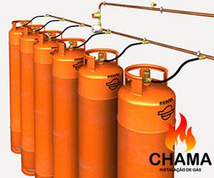 Conversão de Baterai de Gás GLP